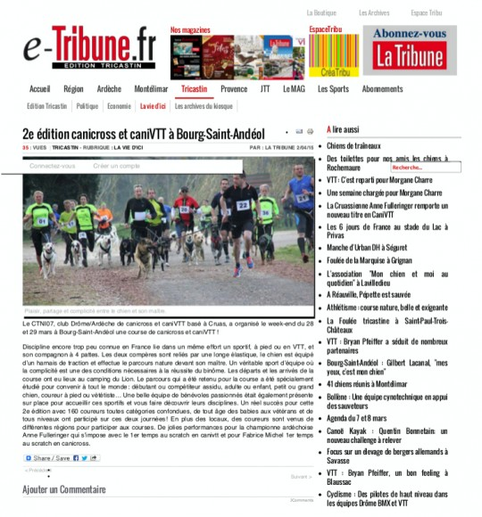e_tribune - 2e édition canicross et caniVTT à Bourg-Saint-Andéol_Fotor
